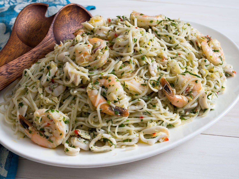 Italian Seafood Recipes  Italian Seafood Salad Pasta Salad With Vietnamese Noodles