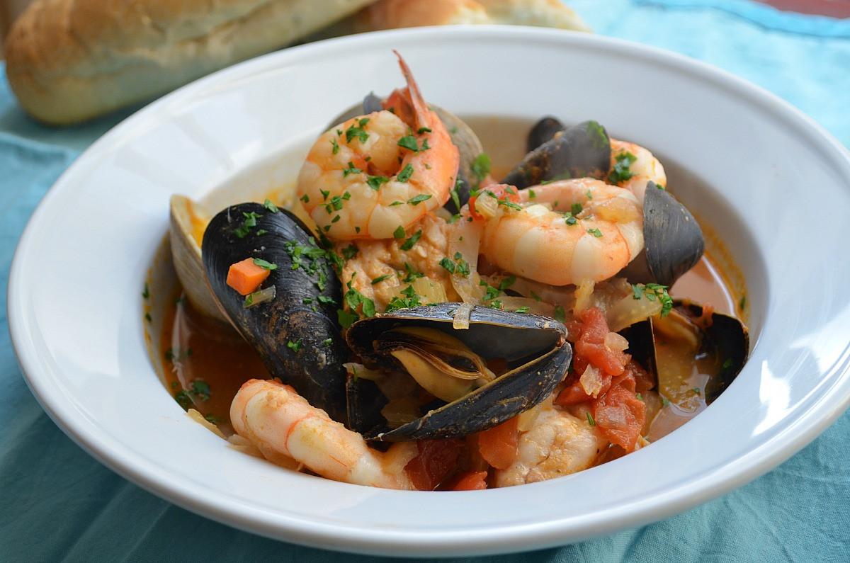 Italian Seafood Recipes  Cioppino Recipe — Dishmaps