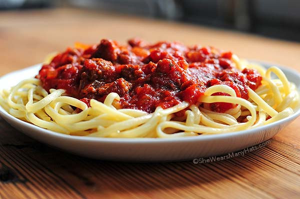 Italian Spaghetti Sauce  Spaghetti Sauce Recipe