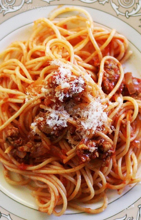 Italian Spaghetti Sauce  sweet italian spaghetti sauce