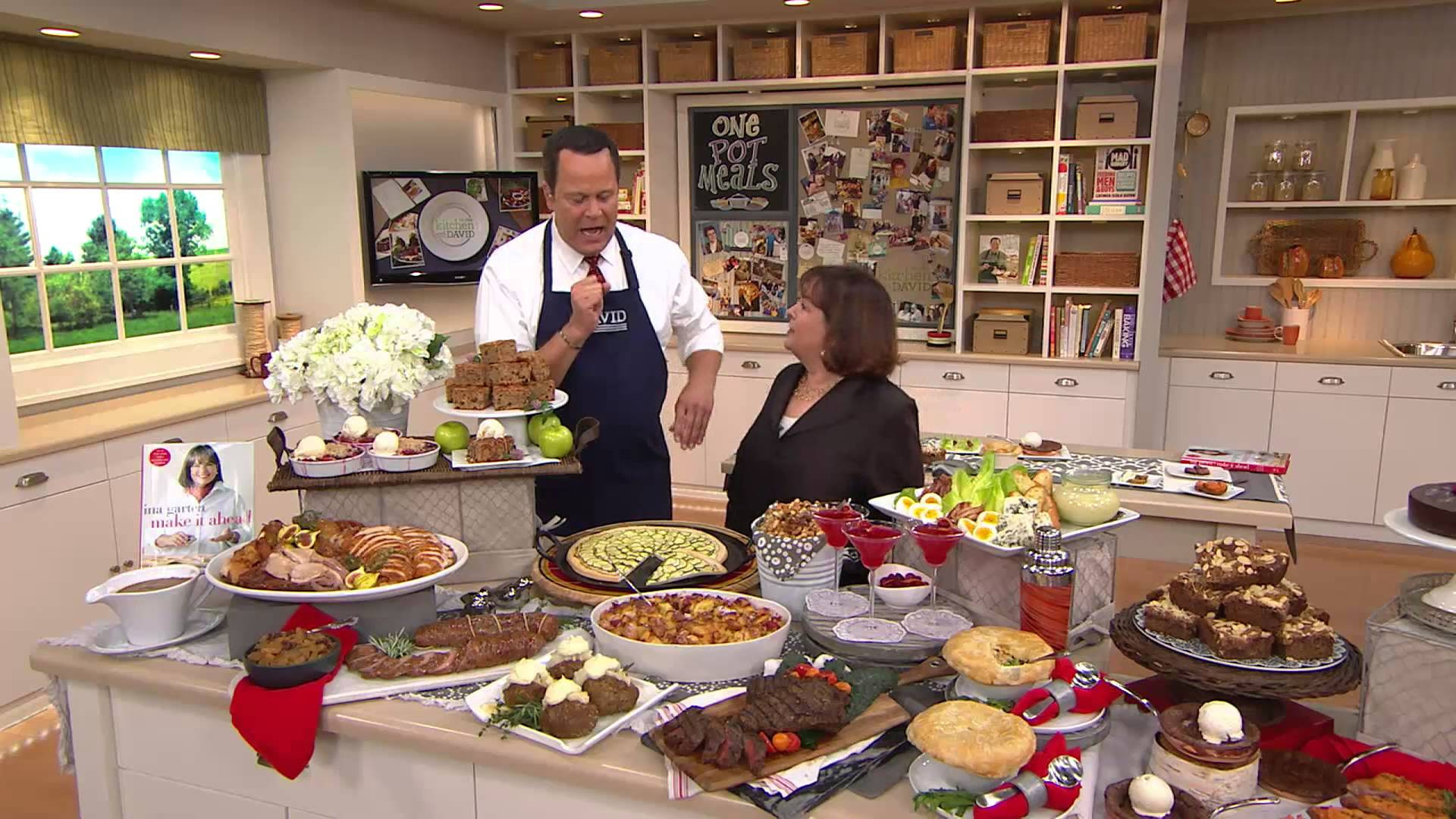 It'S What'S For Dinner  Quot Make It Aheadquot Cookbook By Ina Garten With David