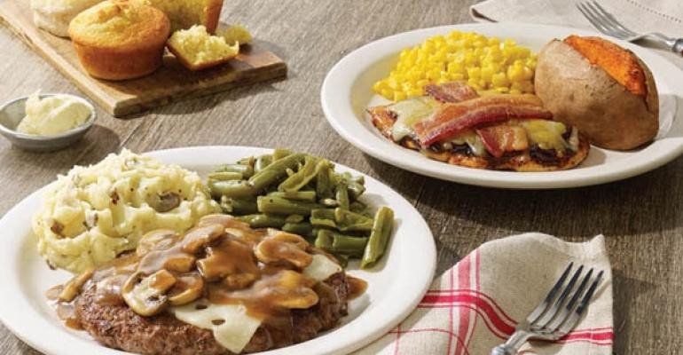 It'S What'S For Dinner  Cracker Barrel Old Country Store introduces spring menu
