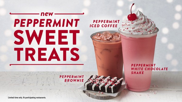 Jack In The Box Desserts  FAST FOOD NEWS Jack in the Box Peppermint Sweet Treats