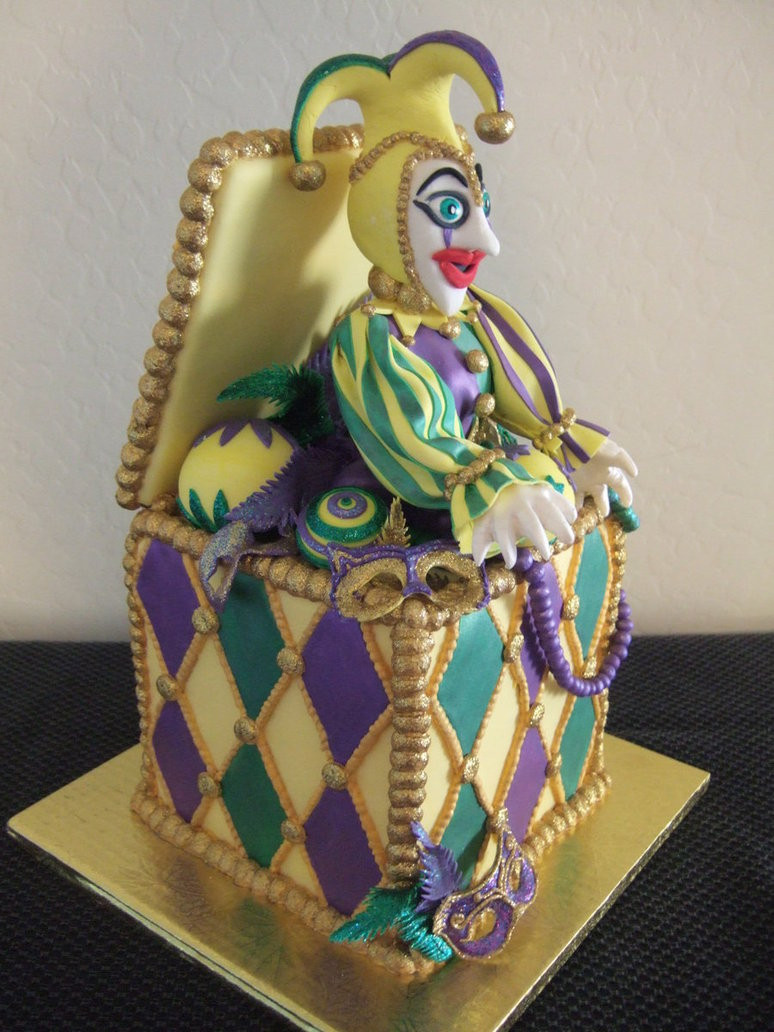 Jack In The Box Desserts  Jack in the Box cake by jwitchy65 on DeviantArt