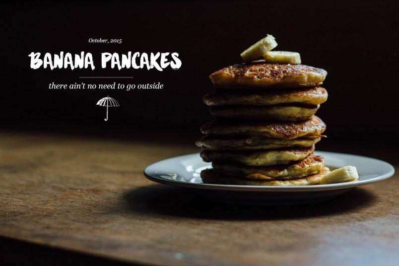 Jack Johnson Banana Pancakes  Banana Pancakes for Two
