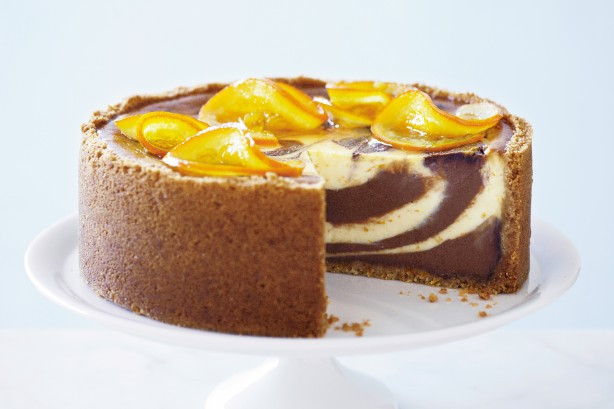 Jaffa Cake Recipe  Marbled Jaffa Cheesecake Recipe Taste