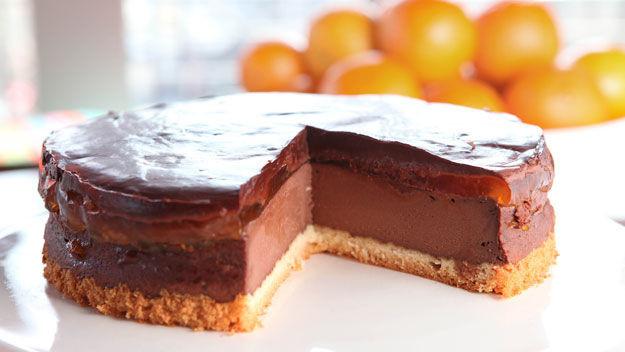 Jaffa Cake Recipe  Cake Recipe Jaffa Cake Cake Recipe