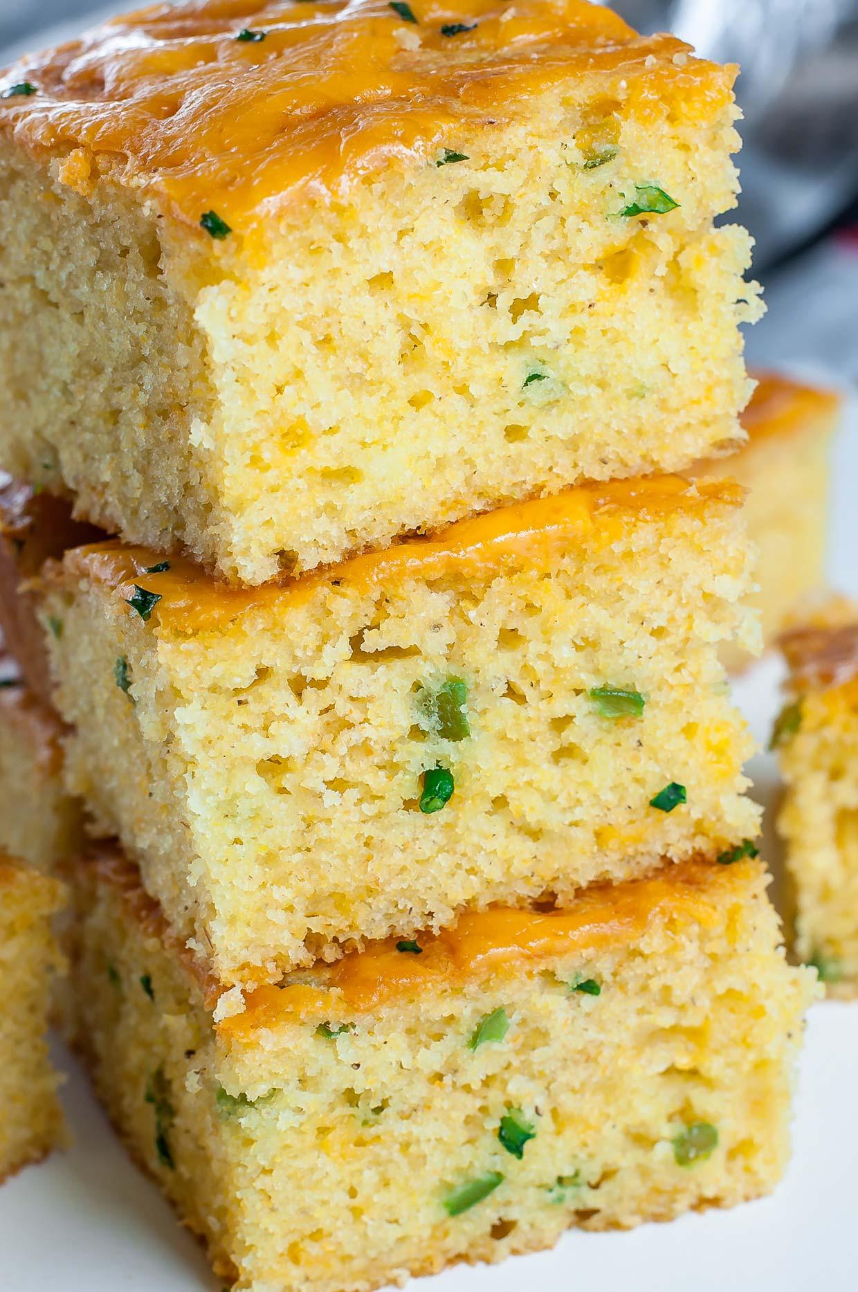 Jalapeno Cheese Cornbread  jalapeno cheese cornbread jiffy