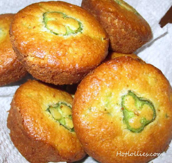 Jalapeno Cornbread Muffins  St Patrick s Day Jalapeno and Cheddar Cornbread Muffins