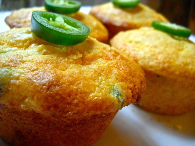 Jalapeno Cornbread Muffins  Jalapeno Cheddar Corn Muffins Bud Bytes