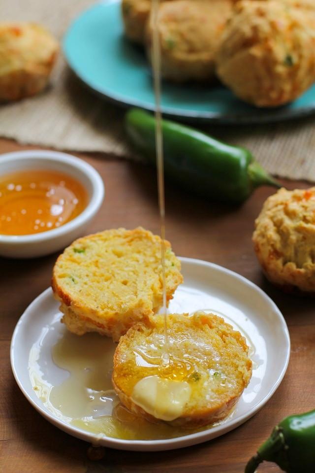 Jalapeno Cornbread Muffins  Gluten Free Jalapeño Cheddar Cornbread Muffins The