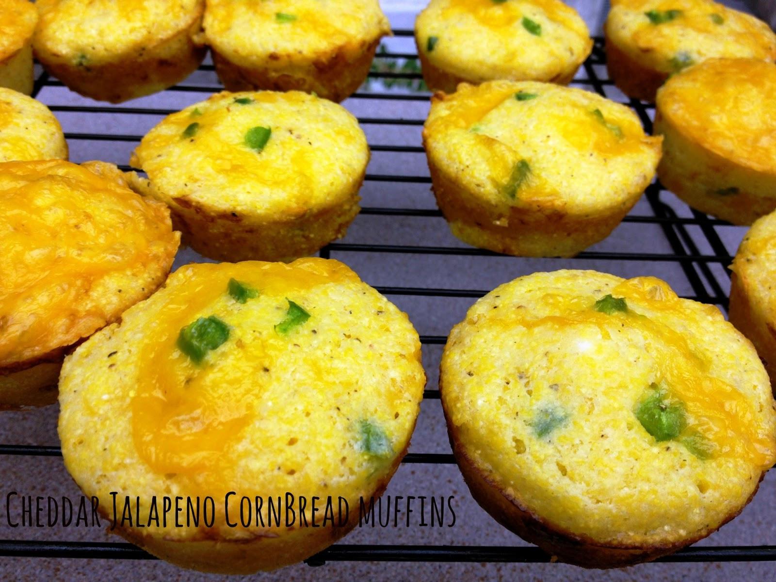 Jalapeno Cornbread Muffins  Cheddar Jalapeno Cornbread Muffins Cooking Quidnunc