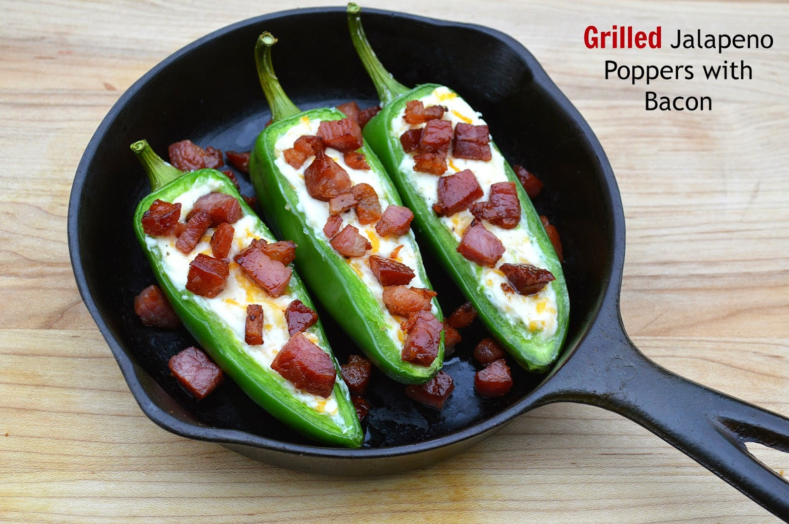 Jalapeno Poppers Grilled  Grilled Jalapeno Poppers with Bacon Bits Souffle Bombay