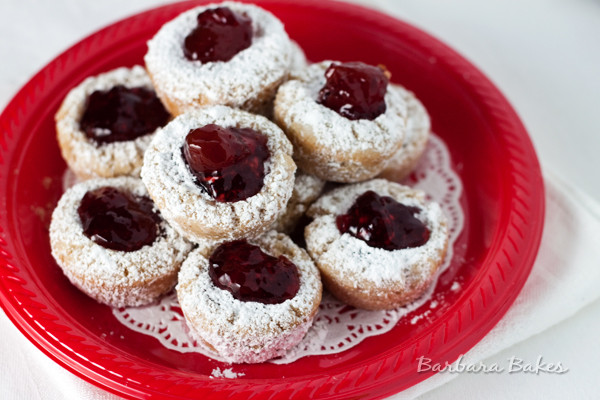 Jam Filled Cookies  snowball cookies recipe no nuts