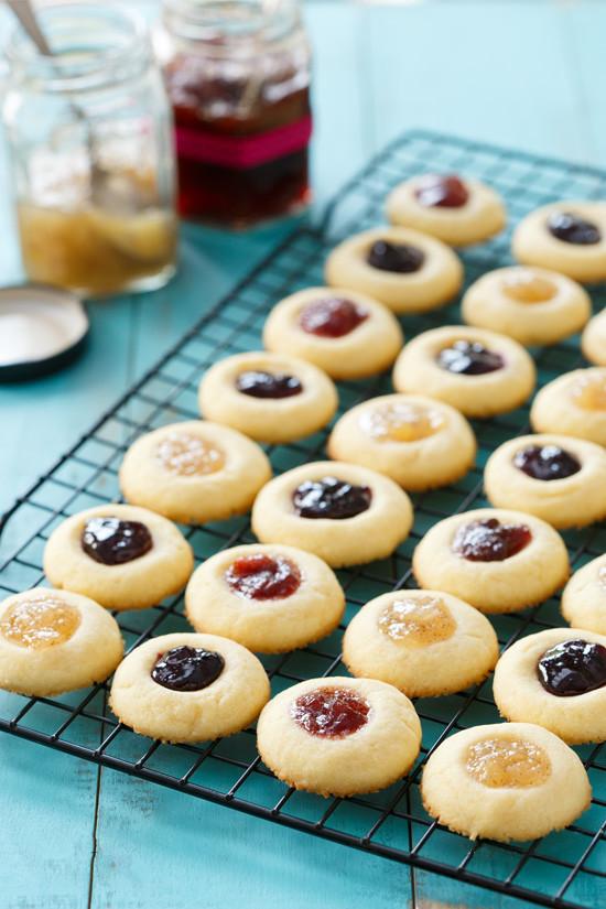 Jam Filled Cookies  [Recipe] Jam Filled Butter Cookies