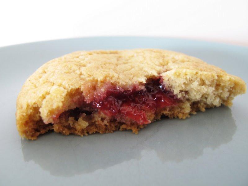 Jam Filled Cookies  jam filled spice cookies