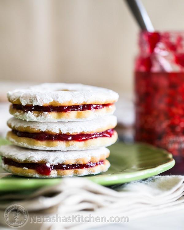Jam Filled Cookies  Jam Filled Sandwich Cookies Zirochki