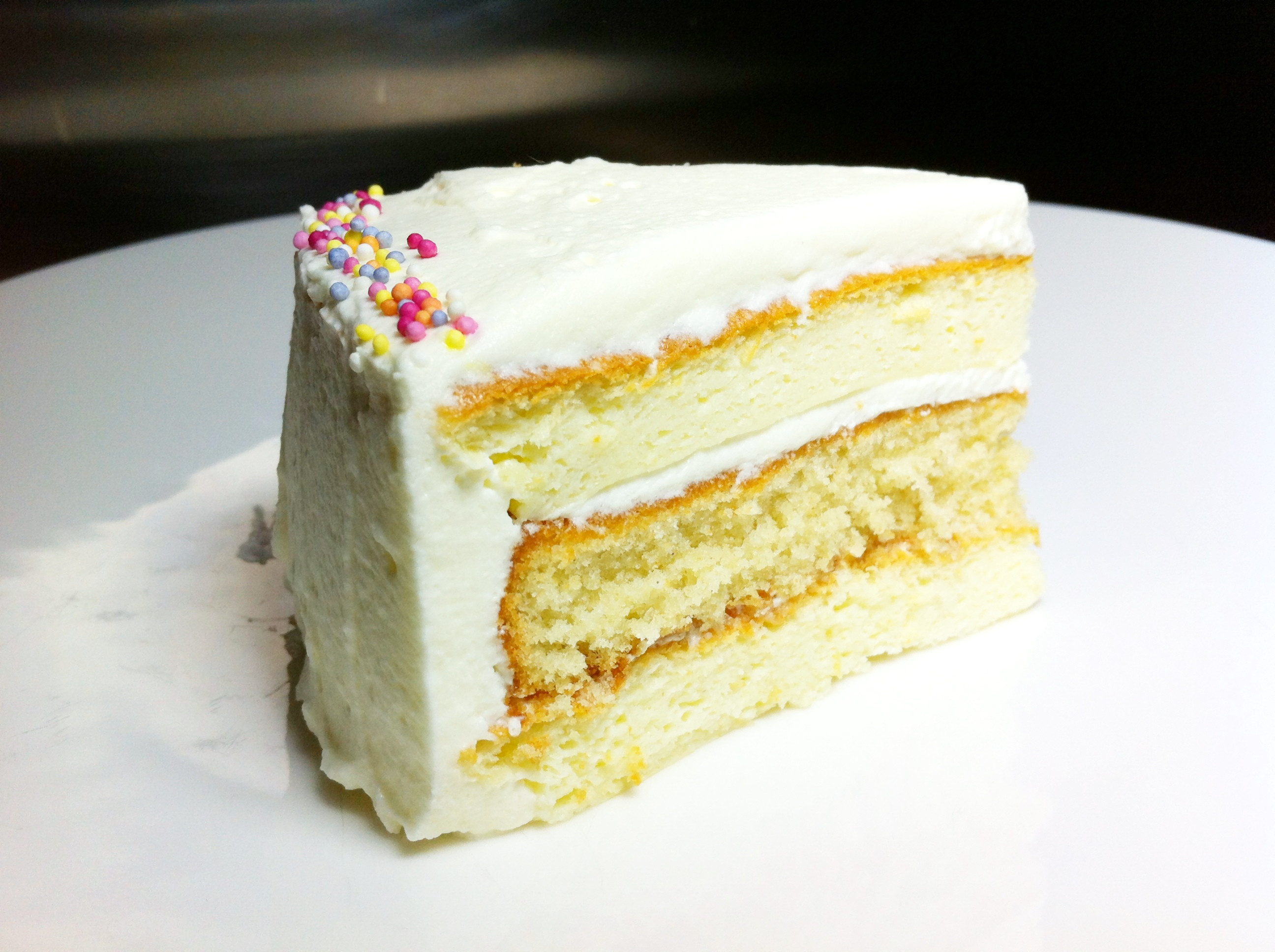 Japan Sponge Cake Recipe  East meets West A Japanese cheesecake and sponge layered