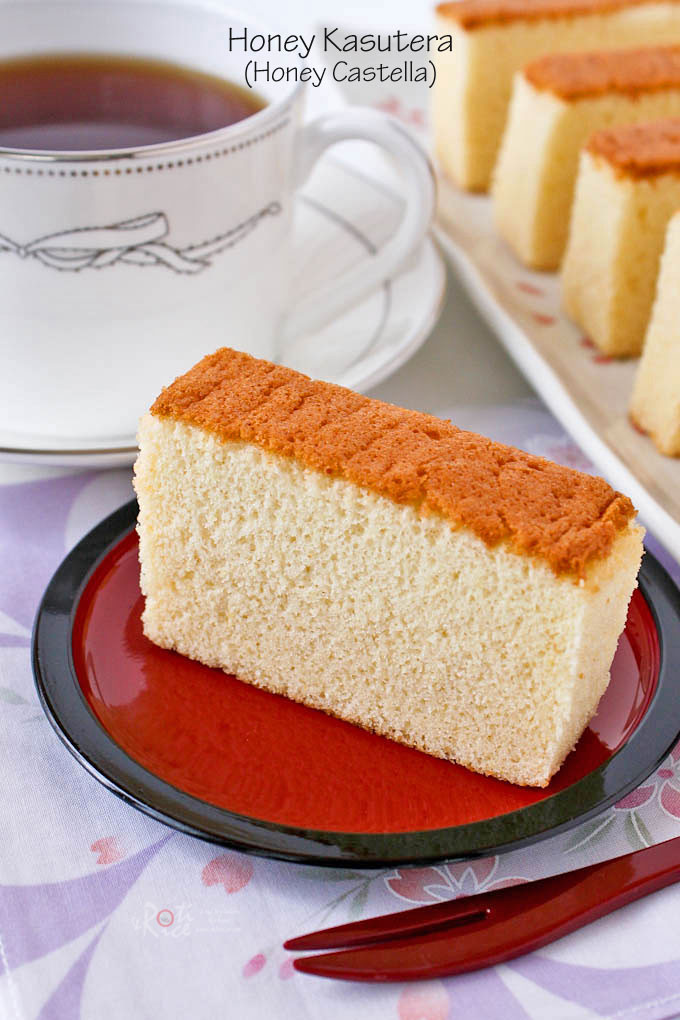 Japan Sponge Cake Recipe  kasutera cake recipe