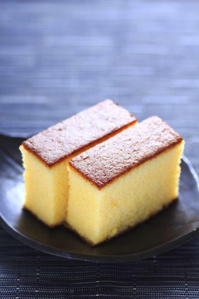 Japan Sponge Cake Recipe  Japanese sponge cake Castella カステラ Sweets 甜品