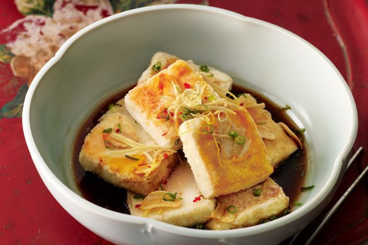 Japan Tofu Recipes  Tofu with Japanese flavours and crisp ginger
