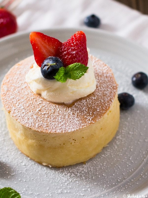 Japanese Fluffy Pancakes  Extra Thick and Fluffy Japanese Style Pancakes