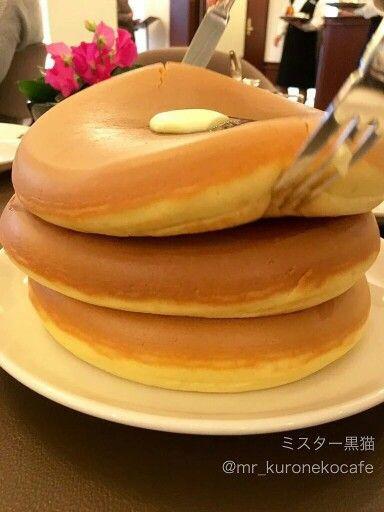 Japanese Fluffy Pancakes  Japanese fluffy pancakes These look sooo yummm