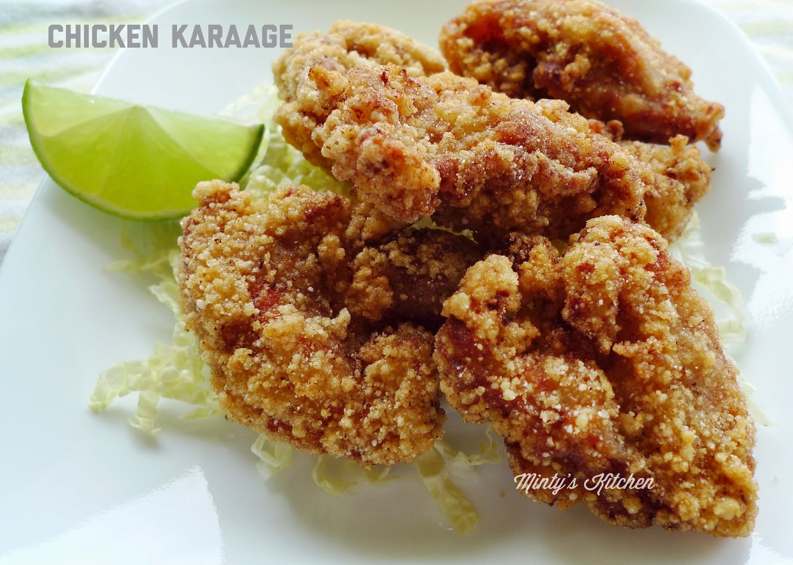 Japanese Fried Chicken  Minty s Kitchen Chicken Karaage Japanese Fried Chicken