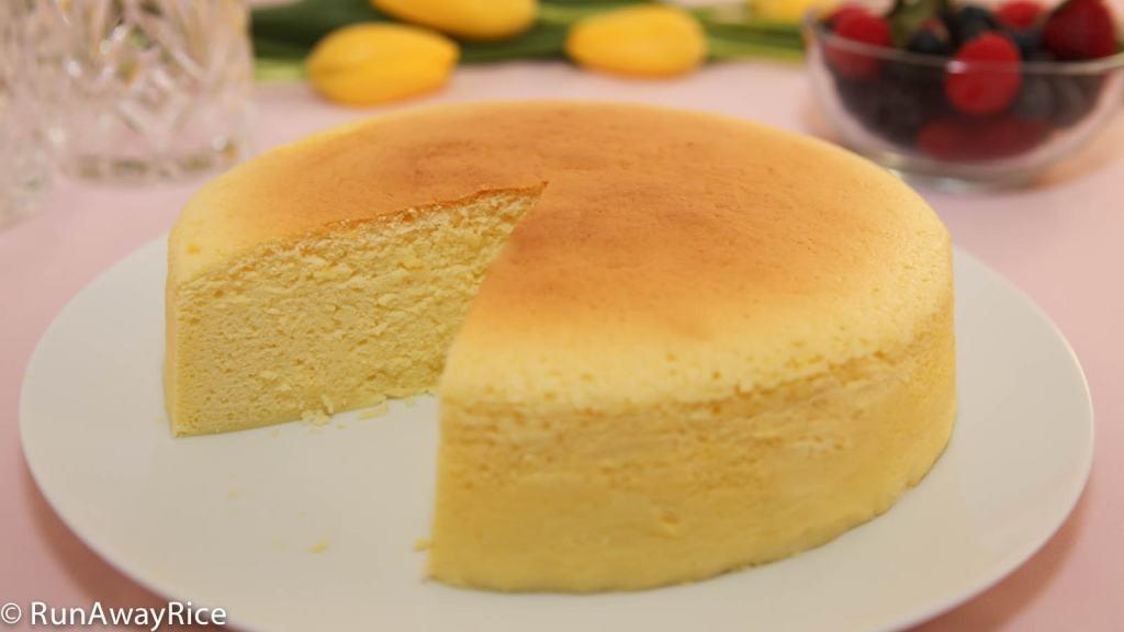 Japanese Sponge Cake Recipe  Cotton Cheesecake Japanese Cheesecake No Fail Recipe
