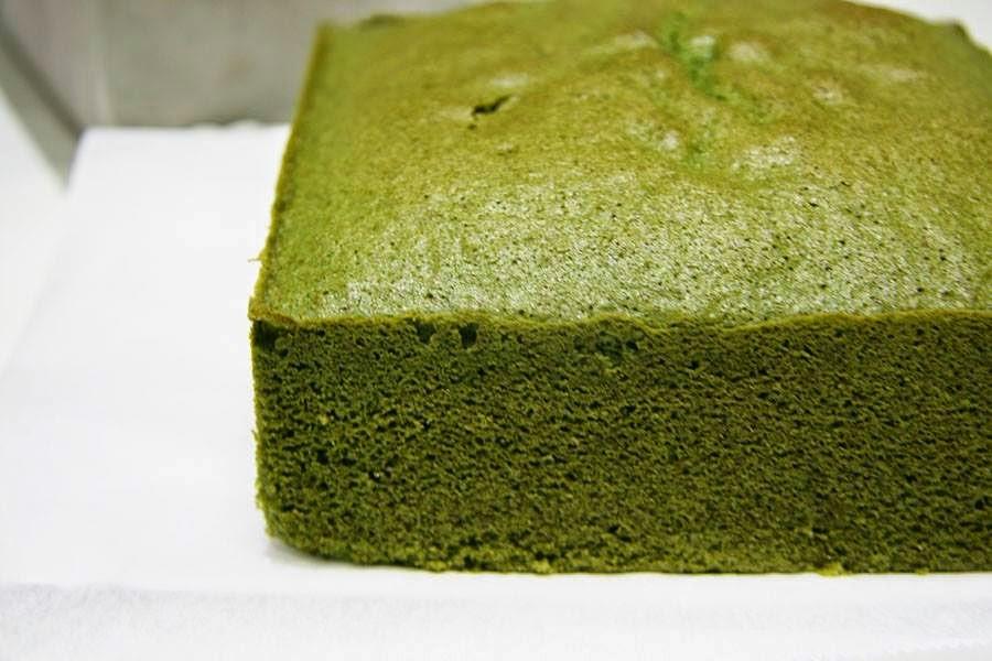 Japanese Sponge Cake Recipe  Matcha Sponge Cake Without Baking Powder