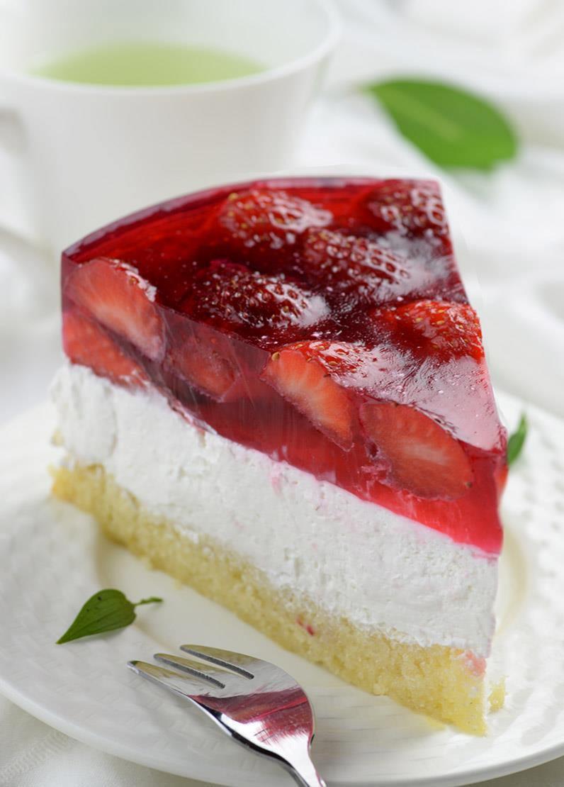 Jello Cake Recipe  Strawberry Jello Cake
