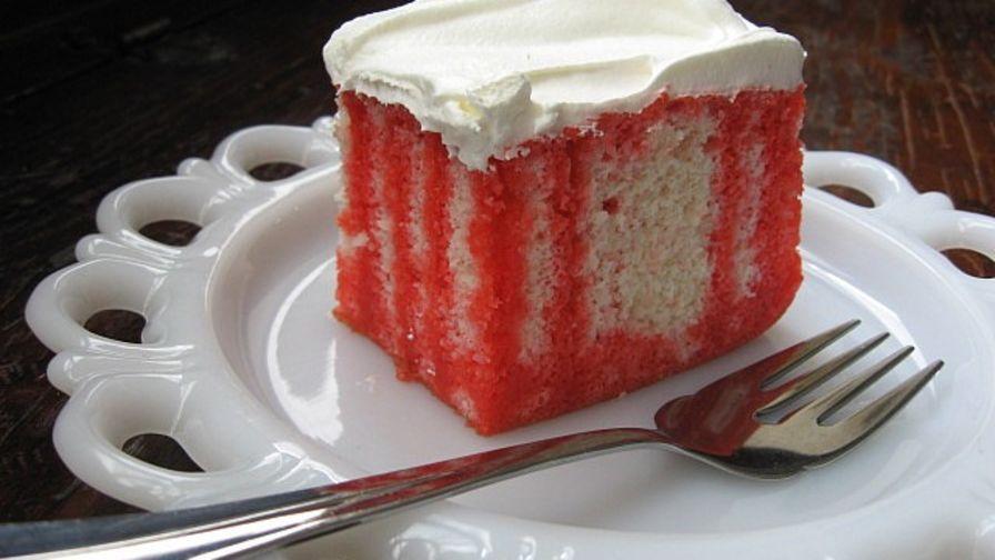 Jello Cake Recipe  jello refrigerator cake recipes