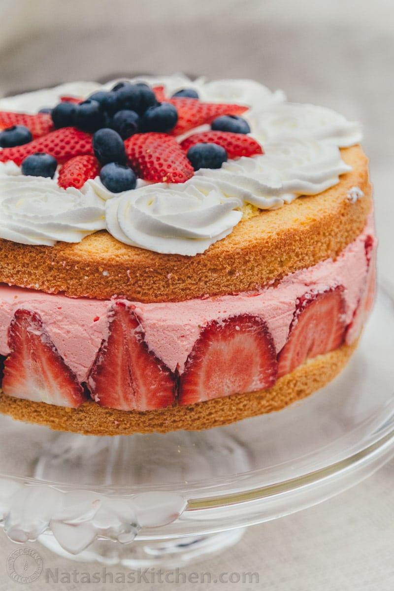 Jello Cake Recipe  how to make a jello cake
