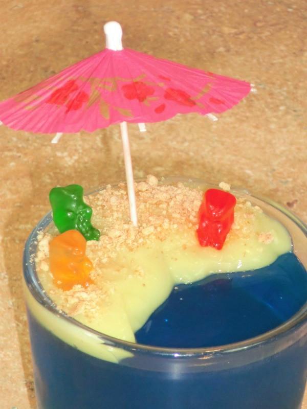 Jello Pudding Desserts  Jello Beach Dessert