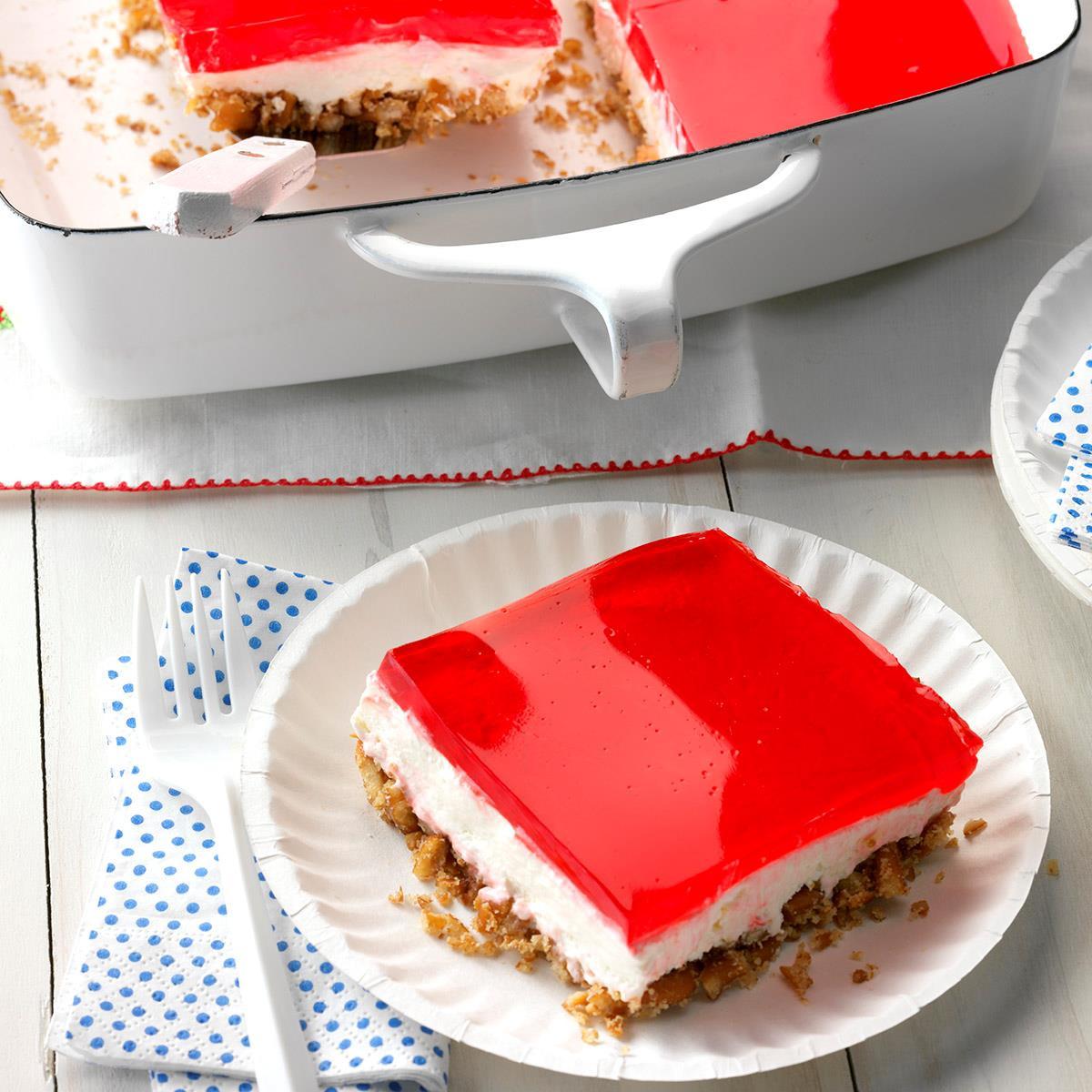 Jello Pudding Desserts  Pretzel Jell O Dessert Recipe