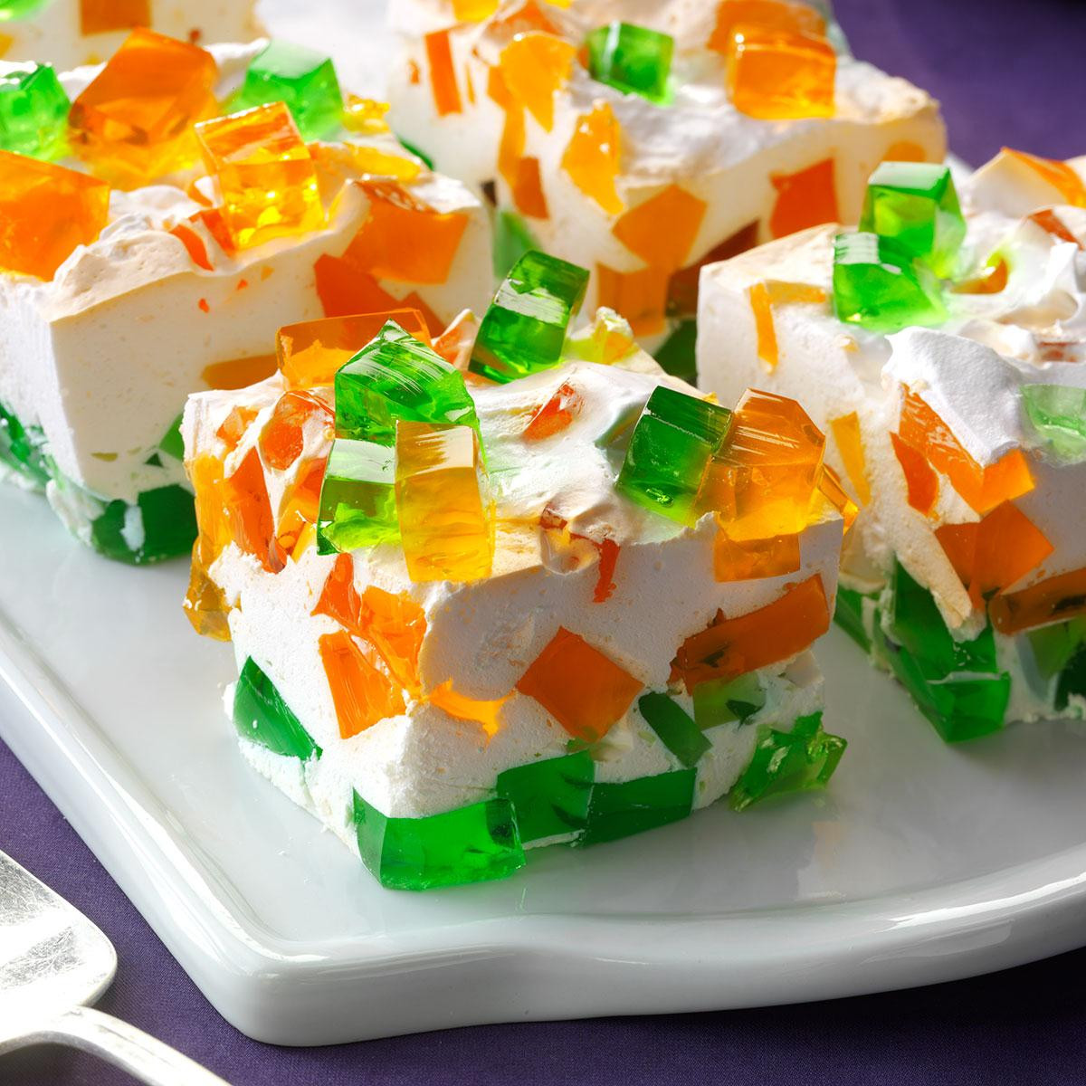 Jello Pudding Desserts  Stained Glass Gelatin Recipe