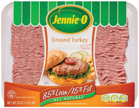 Jennie O Ground Turkey  Ground Turkey Nutrition & Product Info