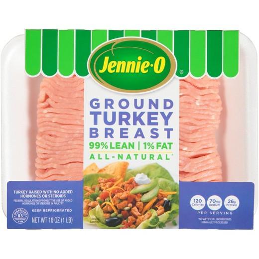 Jennie O Ground Turkey  Jennie O Turkey Store Extra Lean Ground Turkey Breast