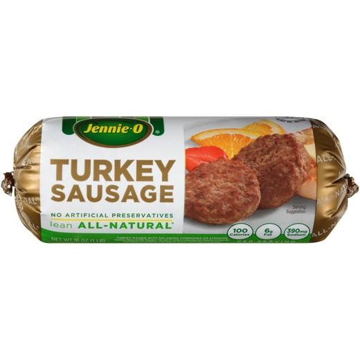 Jennie O Turkey Sausage  Jennie O Mild Turkey Breakfast Sausage 16oz Tar