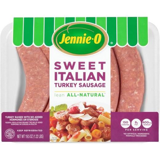 Jennie O Turkey Sausage  Jennie O Turkey Store Lean Sweet Italian Turkey Sausage 19