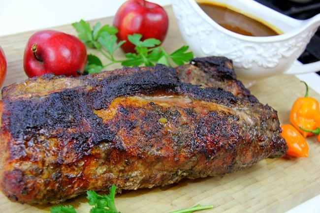 Jerk Pork Chops  caribbean jerk pork chops