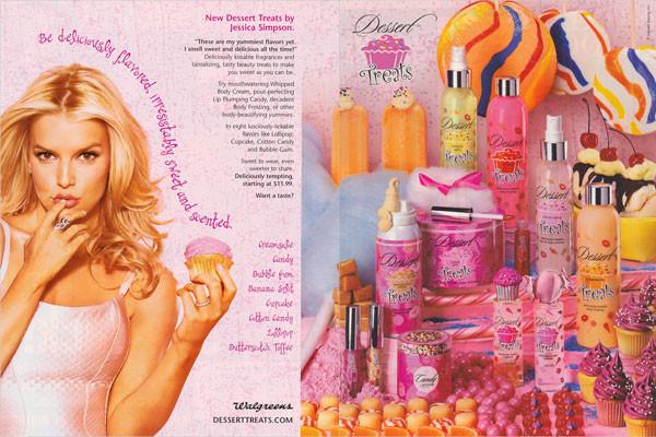 Jessica Simpson Desserts  Jessica Simpson Dessert Treats Candy Perfume Celebrity
