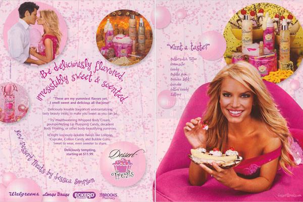 Jessica Simpson Desserts  Jessica Simpson Dessert Treats Body Mist Perfume