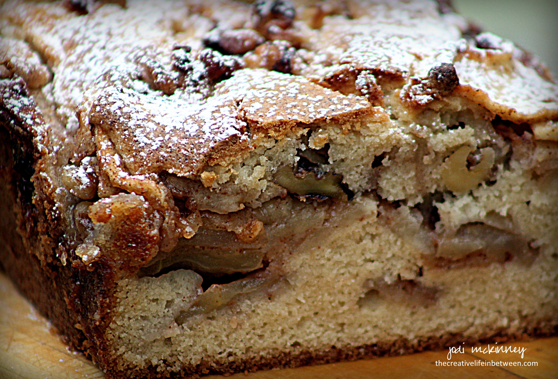 Jewish Apple Cake  cake