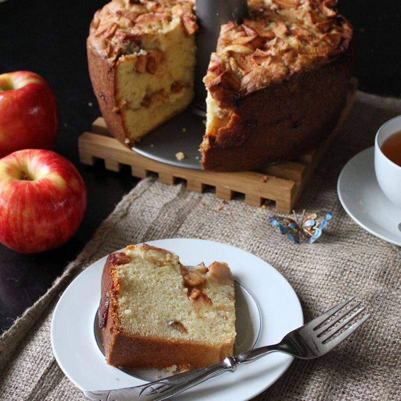Jewish Apple Cake  Mom mom Mary's Jewish Apple Cake