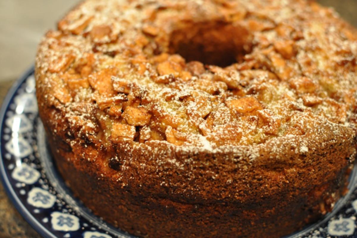 Jewish Apple Cake  Jewish Apple Cake Jamie Geller