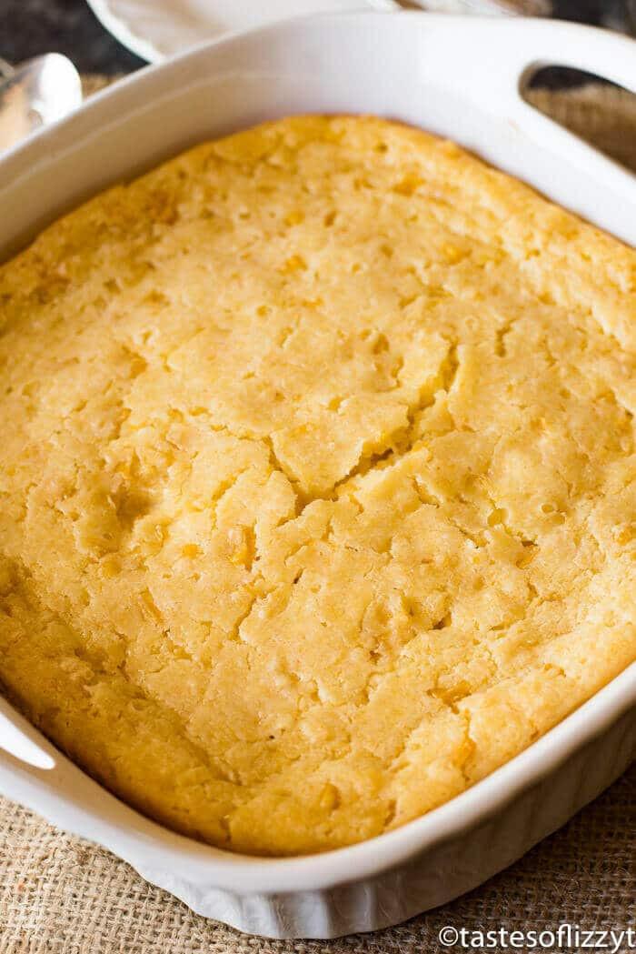 Jiffy Corn Casserole Recipe  easy corn casserole with jiffy cornbread mix