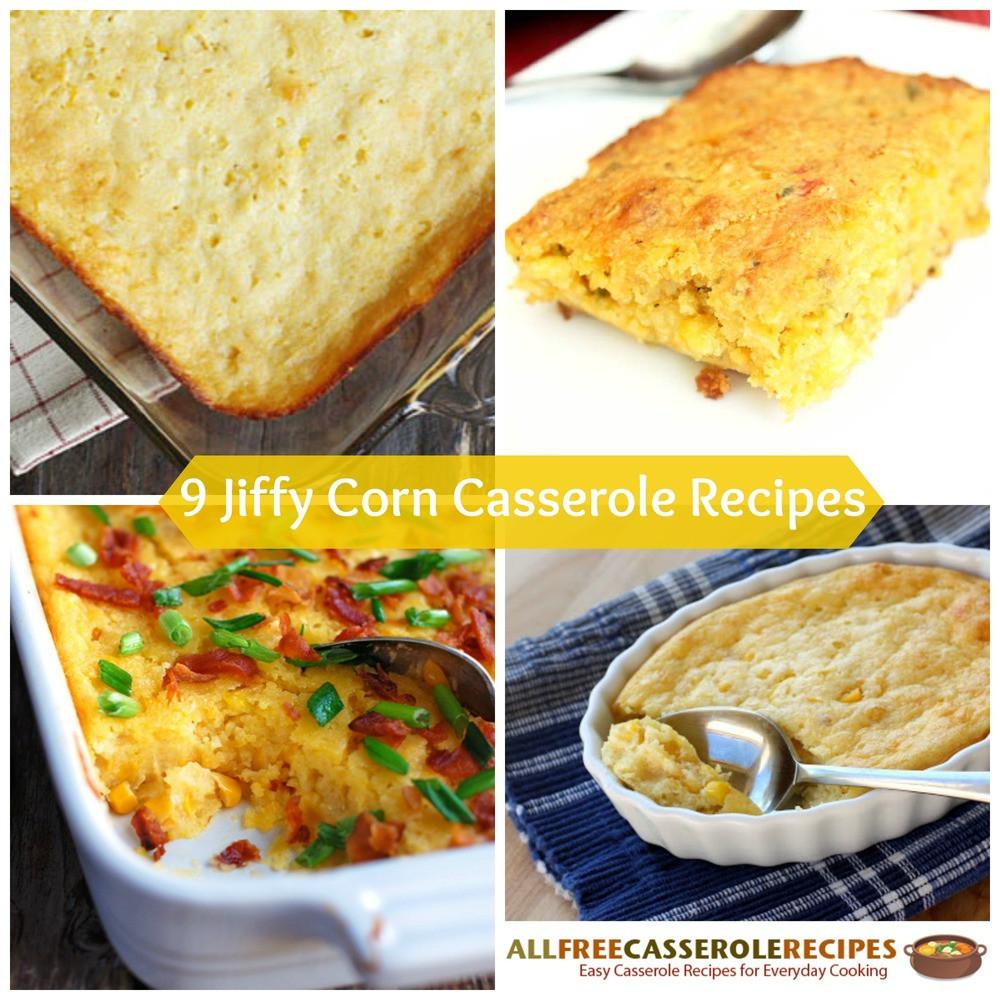Jiffy Corn Casserole Recipe  jiffy corn casserole with bacon