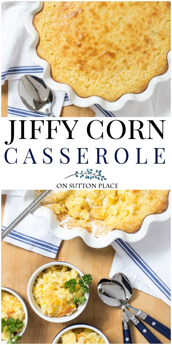 Jiffy Corn Casserole Recipe  Jiffy Cornbread Mix Corn Casserole Recipe Sutton Place