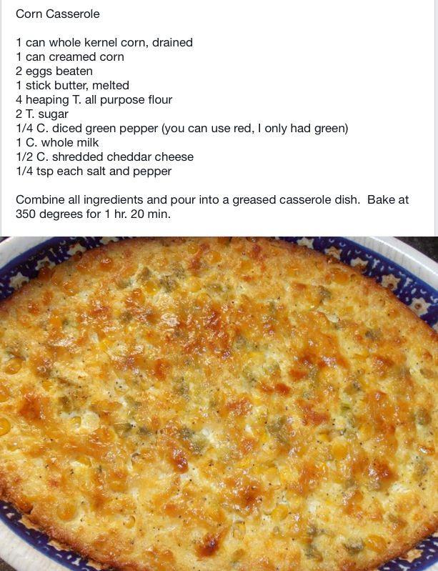 Jiffy Corn Casserole Recipe  tamale corn casserole